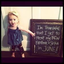 thanksgiving pregnancy announcement idea...I love it!