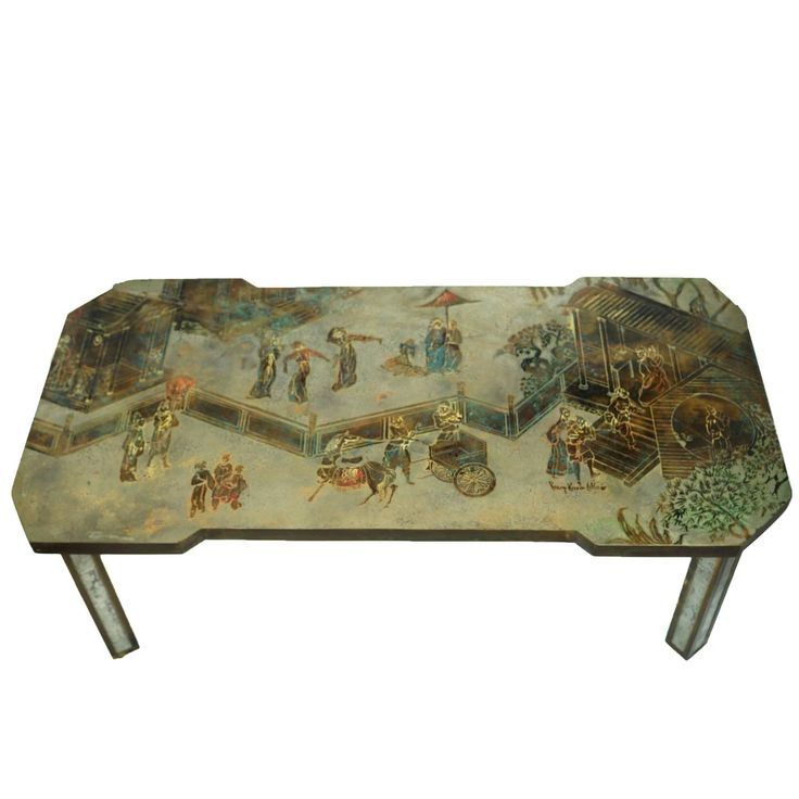 Exquisite Philip And Kelvin LaVerne Coffee Table