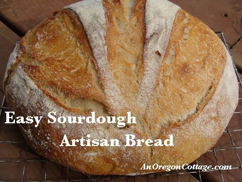 Ever since I grew a sourdough starter two years ago, I\'ve wanted to make a really good loaf of artisan bread with it. Although I waxed poetic about a sourd
