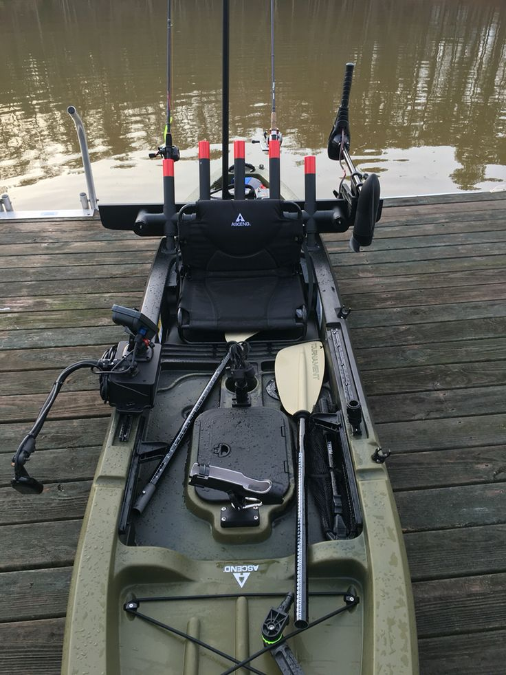 1000 kayaking ideas on pinterest kayak fishing for Ascend 12t trolling motor