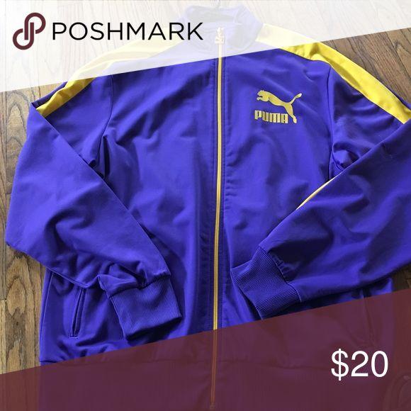 Puma jacket Xl puma jacket great condition Puma Jackets & Coats