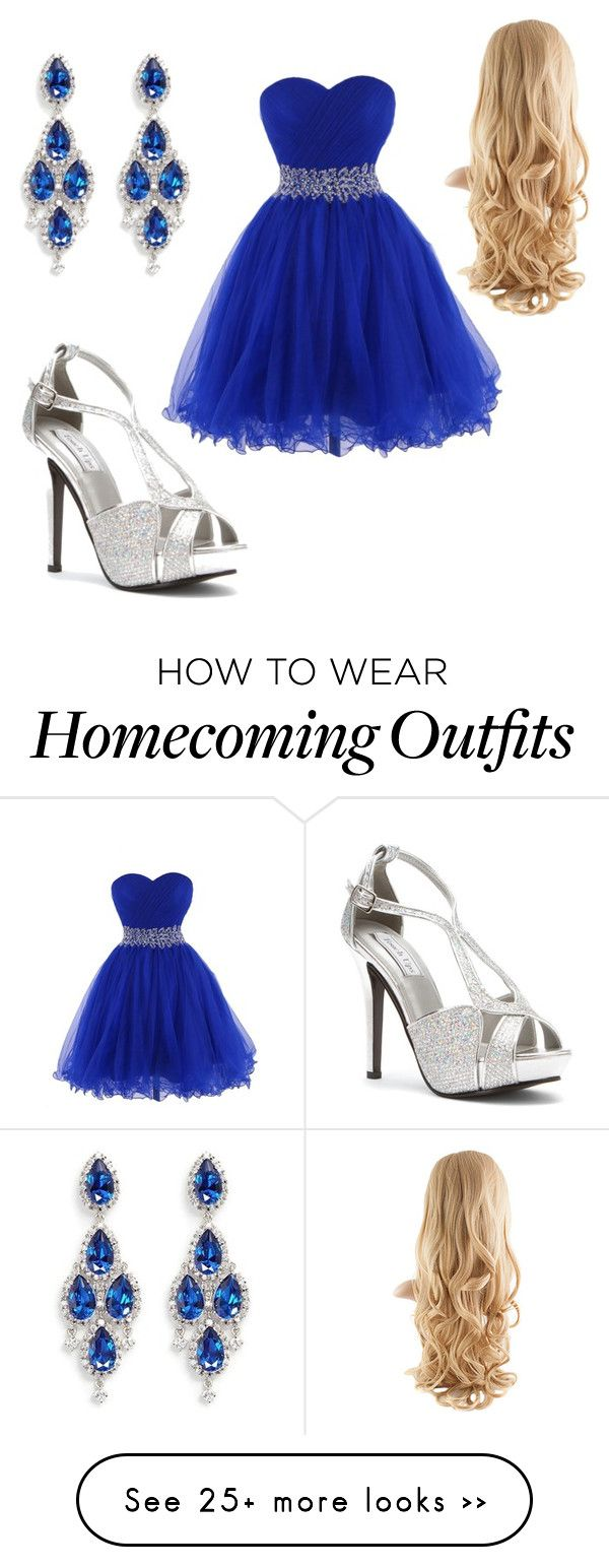 """Homecoming dance"" by karliwillis on Polyvore featuring Touch Ups and CZ by Kenneth Jay Lane"