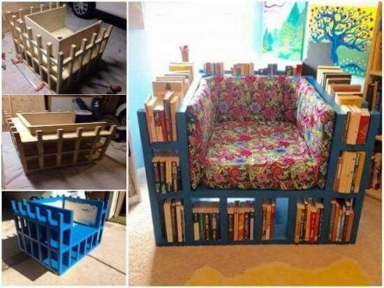 Kitaplık koltuk
