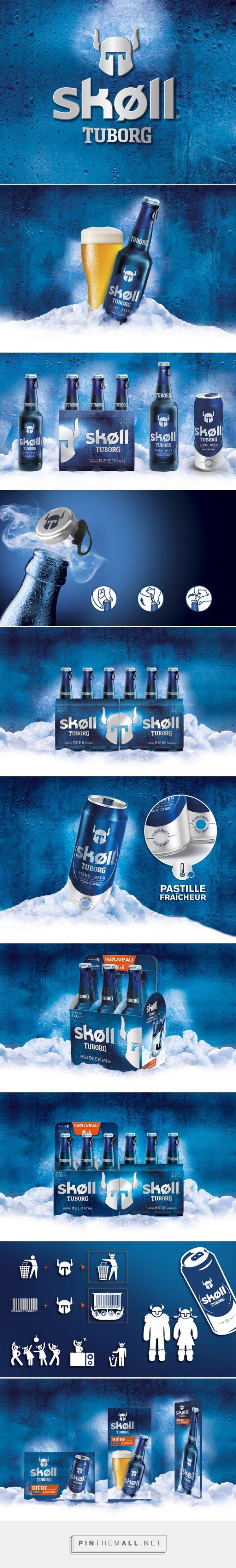 Skøll Tuborg #beer #packaging by Carré Noir - http://www.packagingoftheworld.com/2015/03/skll-tuborg.html