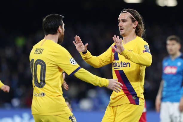 Video Naples Barcelone 1 1 Resume Complet Ligue Des Champions En 2020 Messi Ligue Des Champions Griezmann
