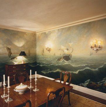 816 best Murals, wallpaper, and wall art images on Pinterest ...