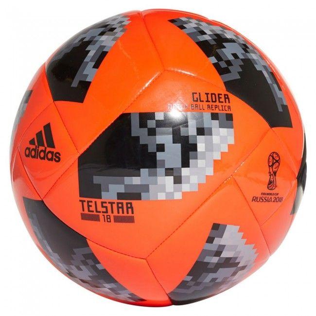 5740152aeb0b6 Balón adidas Mundial 2018 Telstar invierno Match Ball - Naranja  football   balon  pelota