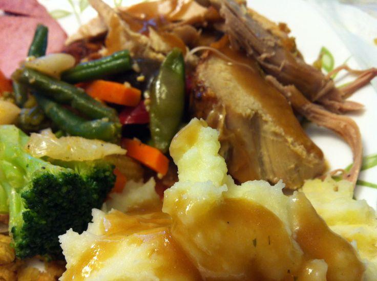 Thanksgiving dinner http://vivaj.blogspot.com/2013/10/turkey-alla-gigi.html