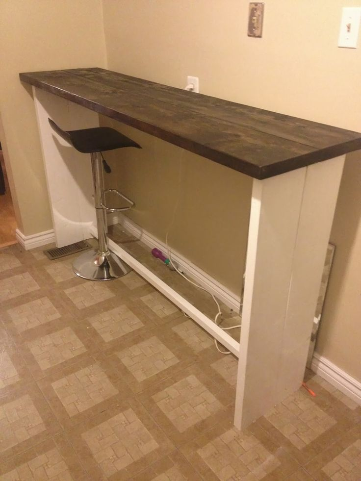 Diy Bar Height Table Woodworking Projects Amp Plans