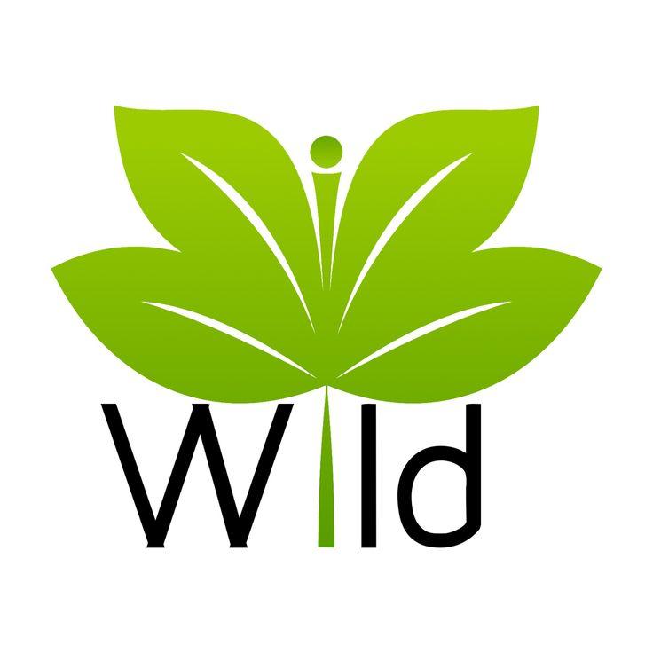 • Green Wild • Logo. Arte, art, disegno, drawing, draw, painting, paint, grafica, graphic, verde, green, natura, nature, foglia, wild, colors, color, colori