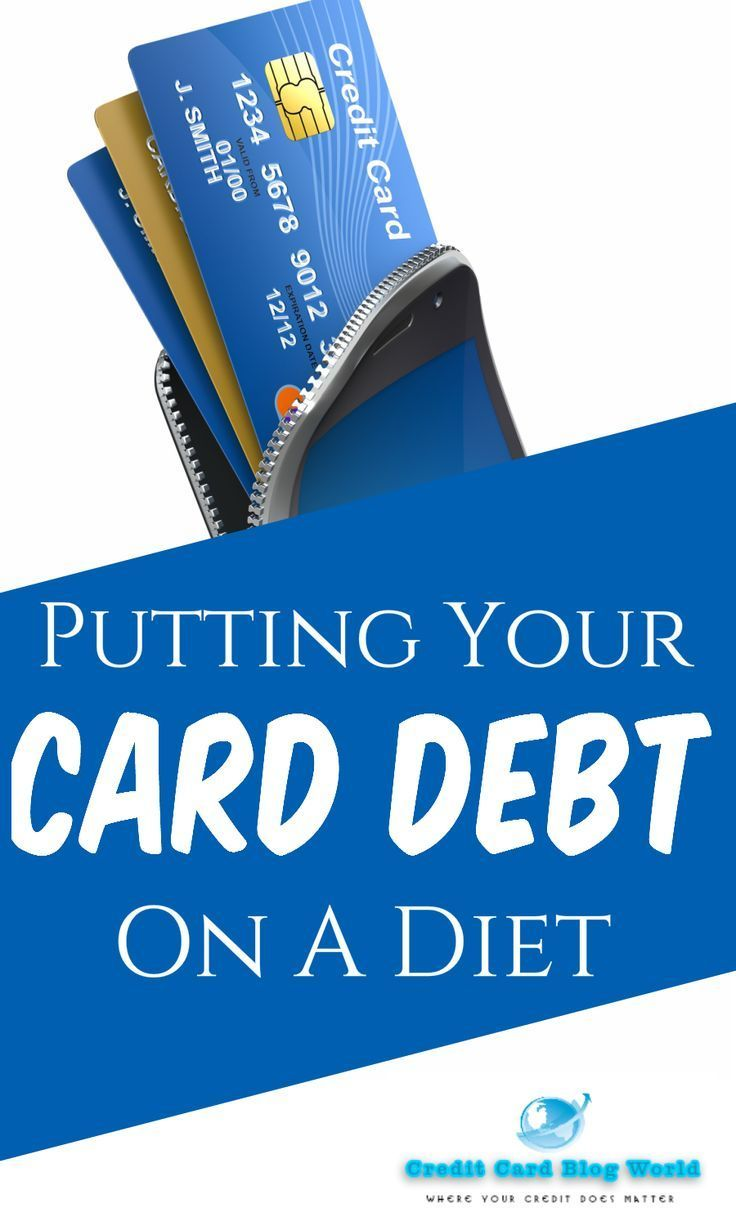 Putting Your Card Debt On A Diet Getting Into Debt Is Easy But Getting Out Of It Indeed A D Debt Relief Companies Debt Relief Programs Credit Card Debt Relief