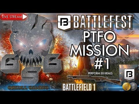 BATTLEFEST PTFO MISSION #1 | BATTLEFIELD 1 | ROAD TO 1K SUBS | LIVE STREAM
