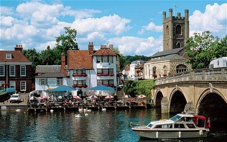the angel on the bridge, henley-on-thames.