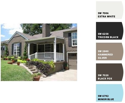 Possible Exterior Paint Colors In 2018 Color Pinterest And