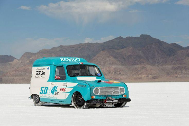 Renault 4L Fourgonnette Van