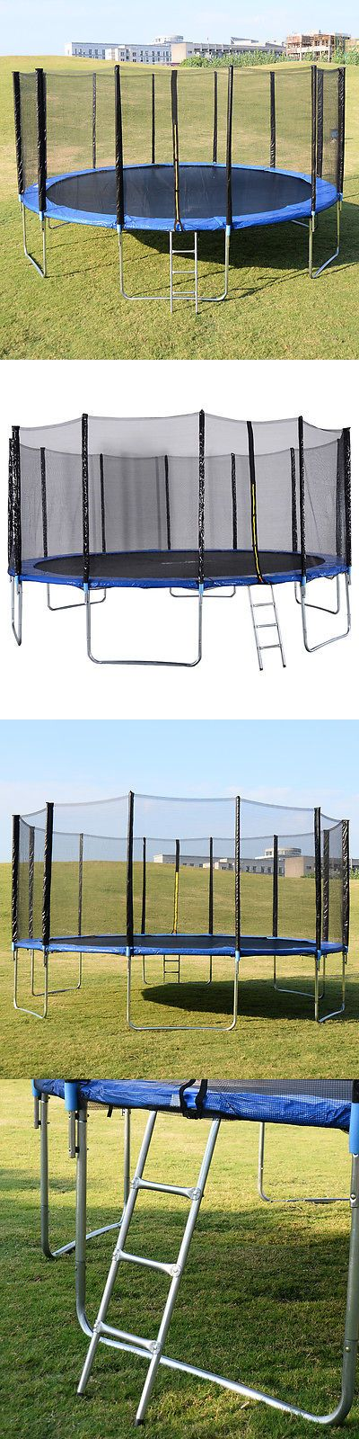 Trampolines 145999: New 16Ft Trampoline Combo Bounce Jump Safety Enclosure Net W Spring Pad Ladder -> BUY IT NOW ONLY: $335.99 on eBay!