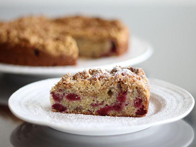 Raspberry Crumb Cake | Recipe