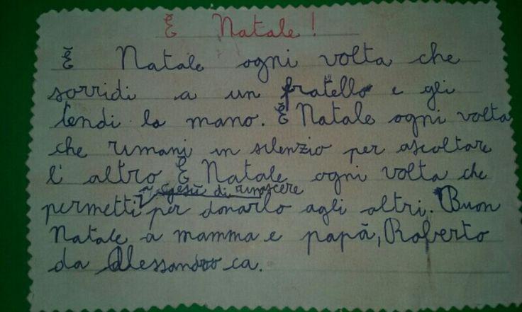 Lettera di Natale,  Alessandro
