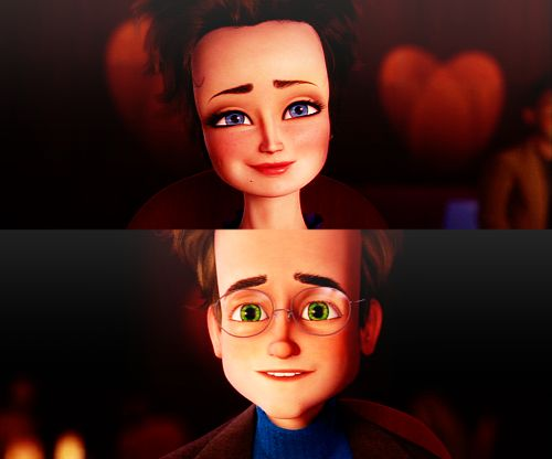 Megamind - Roxanne and Bernard/Megamind