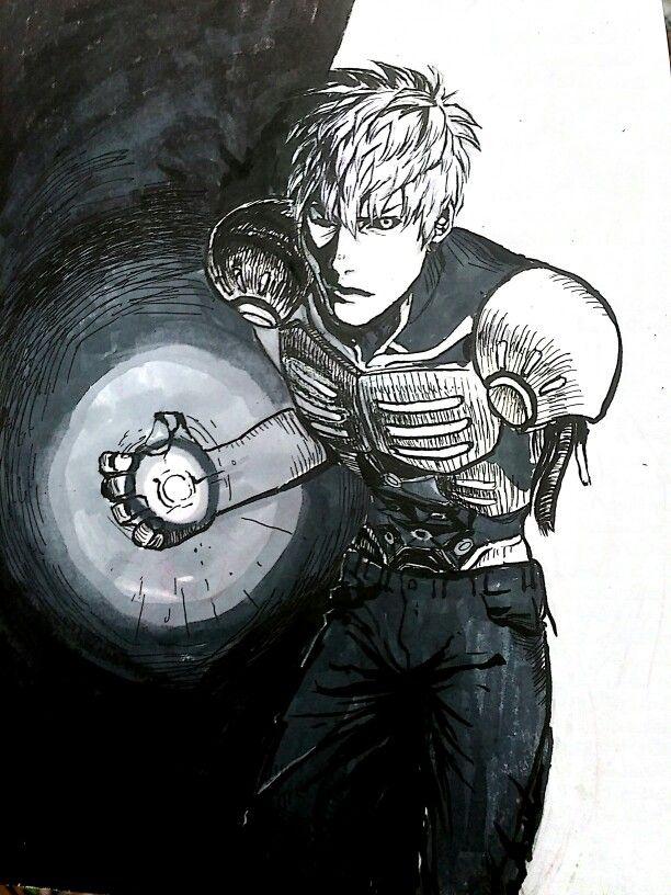 ZENOS #one_punch_man #fan_art #hand_draw
