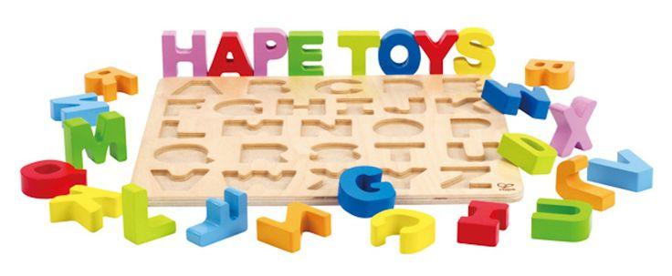 Hape Alphabet Puzzle - Capital Letters
