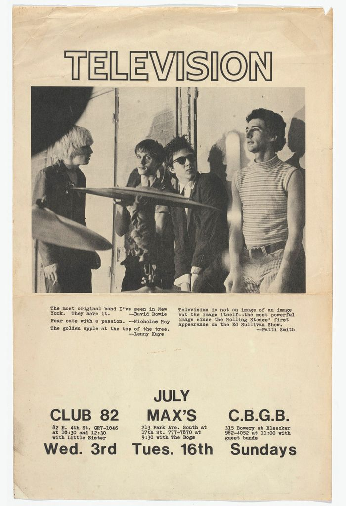 Old Punk Flyers : Photo