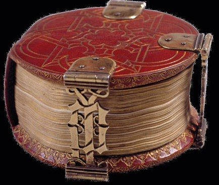 Magnificent book art in the smallest form Hildesheim, Dombibliothek Hildesheim, Hs 728, Bruges, end of the 15th century