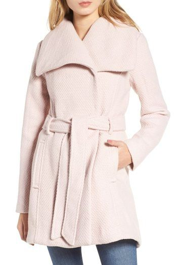 On SALE at 41% OFF! belted waffle woven coat by Steve Madden. Subtle waffle texture adds tactile dimension to this softly structured coat with wide, face-framing draped lapels. A ...