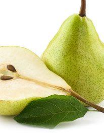 Pear and ginger pavlova