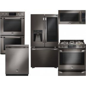 Image result for Package 8 - Whirlpool Appliance Package - 4 Piece Appliance Package with Gas Range - Stainless Steel Rs: 1, 56, 324.21