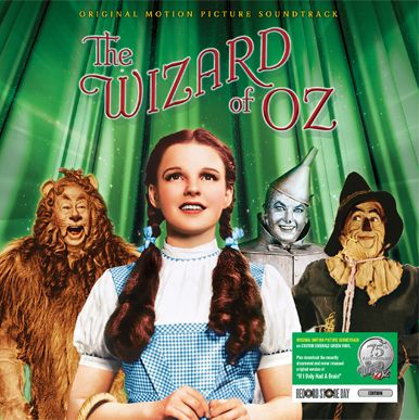 Warner Bros to celebrate 'The Wizard of Oz' 75th anniversary with Emerald Green Vinyl soundtrack for RSD