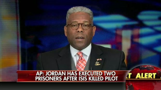 Allen West 'Jordan understands better than Obama how to fight ISIS""