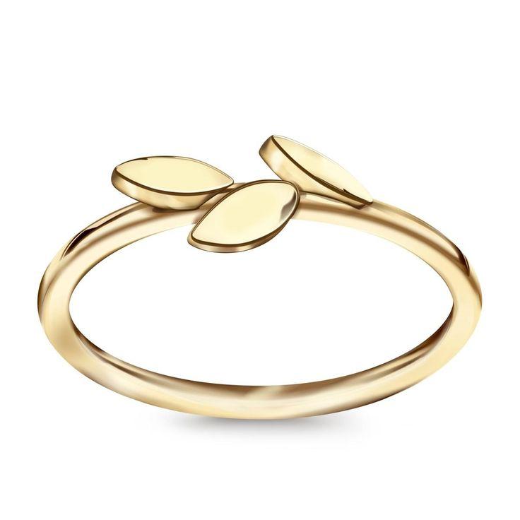 Ten jest po prostu idealny  Livia - złoty pierścionek