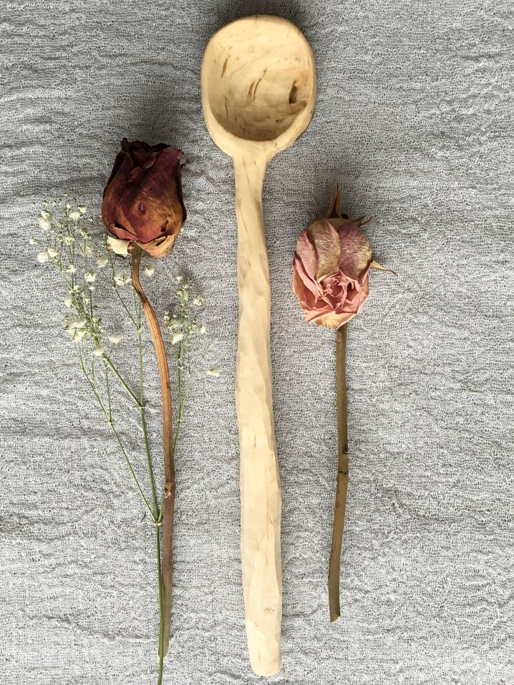The Knotty Rose Spoon was hand crafted and made with intention; a true representation of the wood's original form. It is best used for stirring or serving. https://www.etsy.com/listing/572594612/knotty-rose-wooden-spoon?ref=related-7