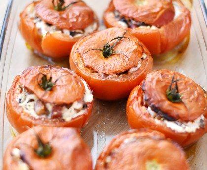 fromage de chèvre, lardons fumés, champignon de Paris, herbes de Provence, Sel, Poivre