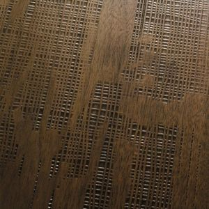 DESIGN - Woven Walnut Planks - antiqued Parquet. Noce anticato lavorato a tessuto. #cadorin engineered wood flooring