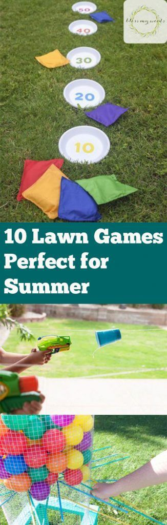 Looking for games to make your summer more enjoyable? Here are some lawn games that are perfect for summer. Kids and adults will surely love these games. | Summer Activities for Kids | Summer Outdoor Kid Activities | Fun Outdoor Games | Outdoor Party Game Ideas
