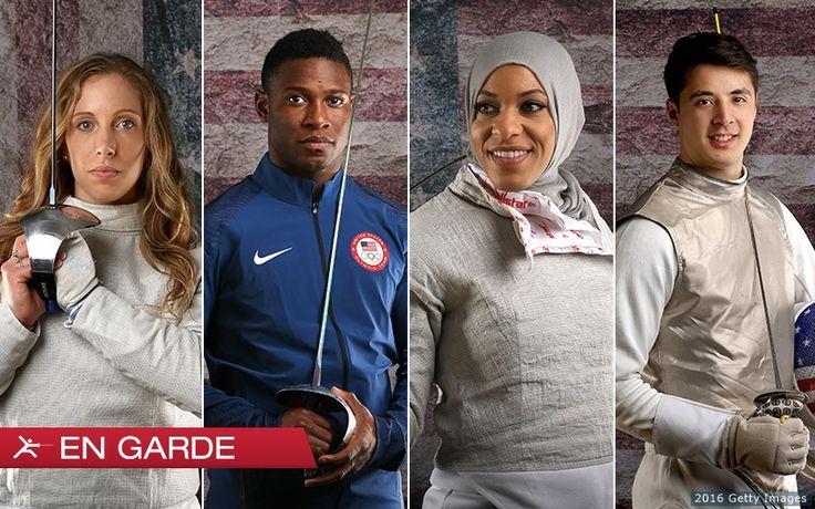 Meet The 2016 U.S. Olympic Fencing Team