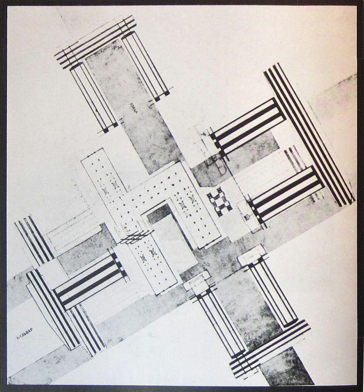 El Lissitzky | Wolkenbugel