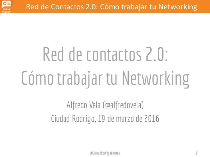 Red de Contactos 2.0: Cómo trabajar tu Networking