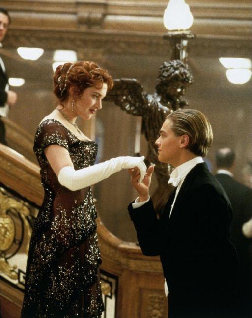 Jack greeting Rose