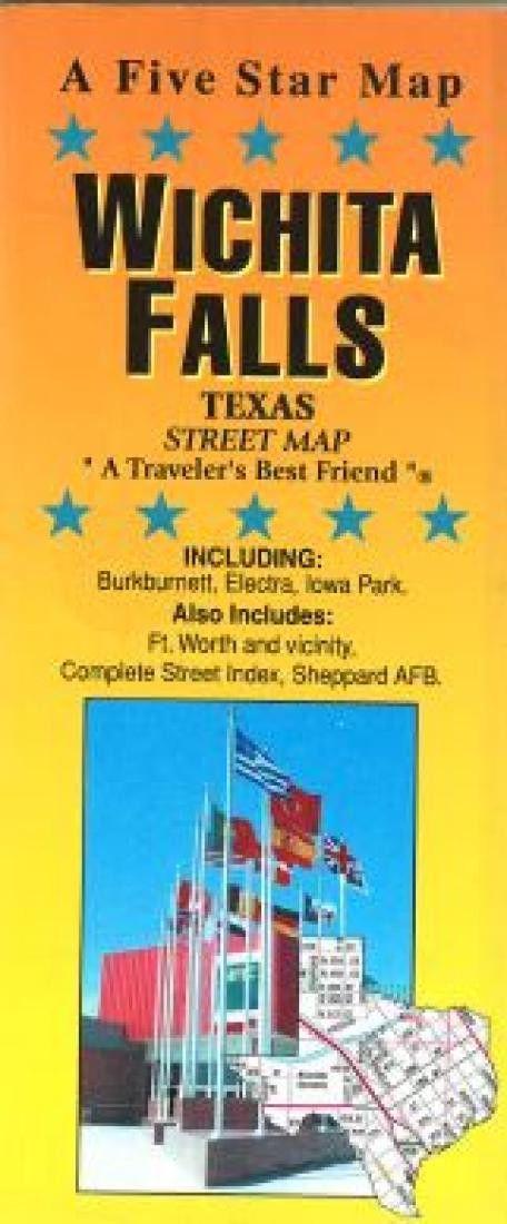 Wichita Falls, Texas by Five Star Maps, Inc.