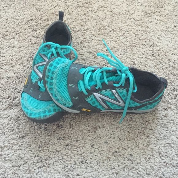 New Balance Vibram minimus Teal running shoes. Very light weight and comfortable New Balance Shoes Athletic Shoes