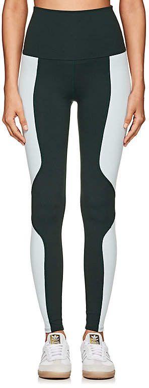 Live the PROCESS Women's Geometric Colorblocked Jersey Leggings