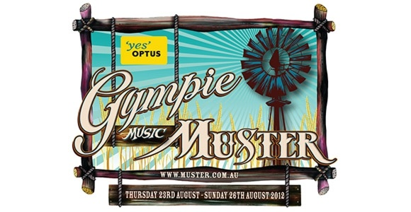 Gympie Music Muster, sponsored by Optus.