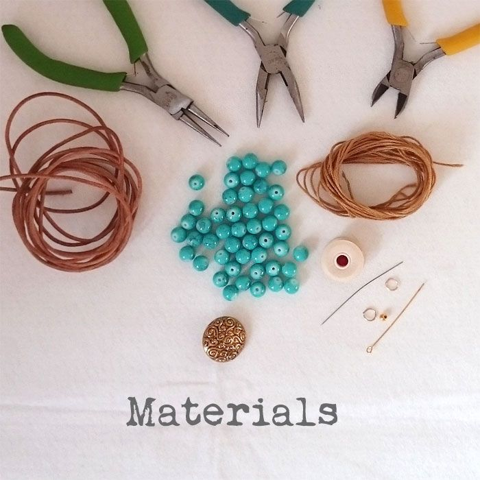This article will explain step by step, complete with photos, exactly how to make a beautiful boho / gypsy style leather double wrap bracelet.