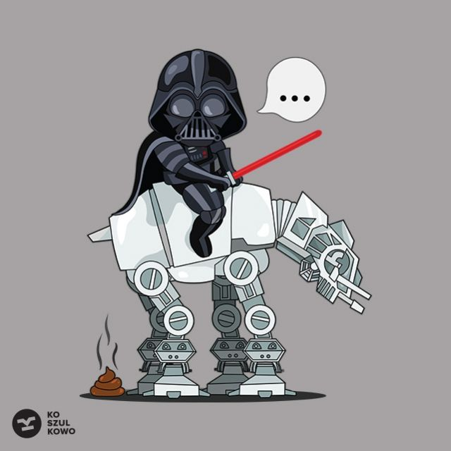 Shit Happens Atee - Koszulkowo   t-shirt, Vader, koszulkowo, The Atee