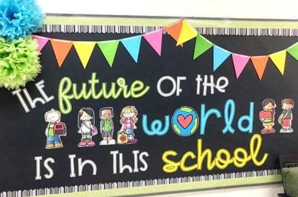 15 Back To School Bulletin Board Ideas You Will Love In 2020 School Counseling Bulletin Boards Counseling Bulletin Boards Kindergarten Bulletin Boards