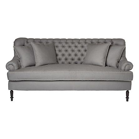 Best 25 Grey tufted sofa ideas on Pinterest Tufted couch