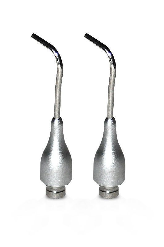 2 Pcs Autoclavable Spray Nozzles For Dental Scaler Air Polisher Tooth Prophy Jet Oral Hygiene